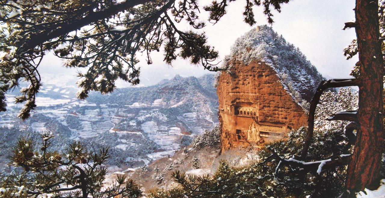 陇轩摄影作品欣赏之天水麦积山风景区
